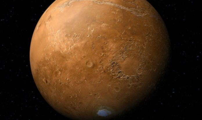 Underground Water System Discovered on Mars (Study)