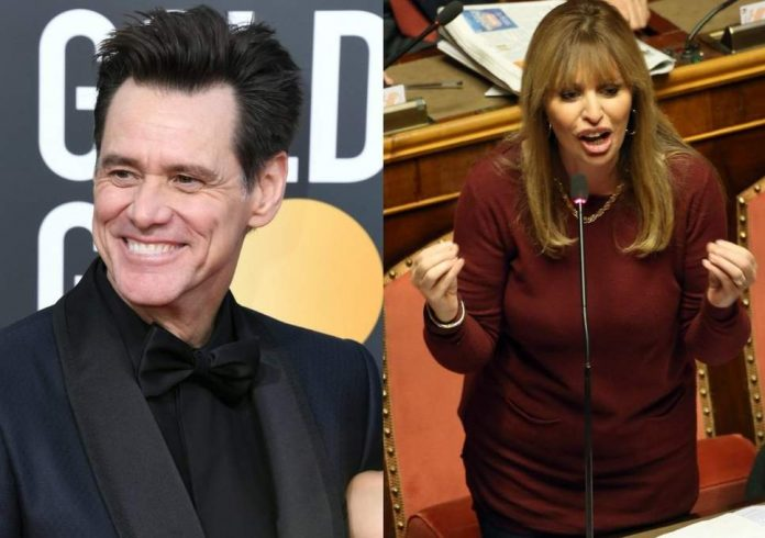 Alessandra Mussolini hits out at Jim Carrey over Twitter, Report
