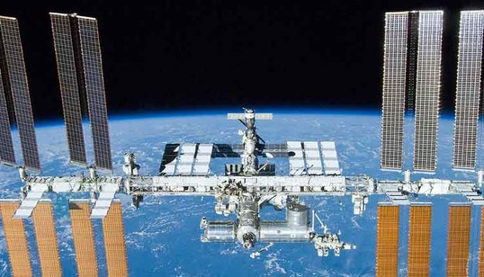 International Space Station Infested With Bacteria (NASA)