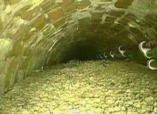London sewer blocked by 105-tonne 'concreteberg' (Photo)