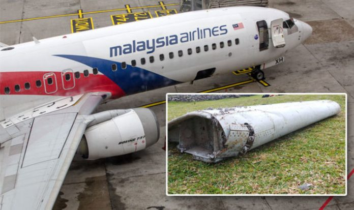 MH370 'was in contact with another plane just before disappearing', Report