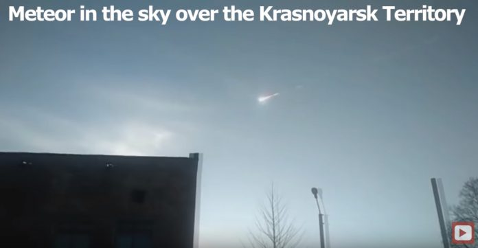Meteor Explodes Over Russia (Watch)