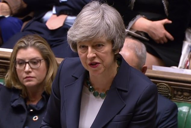 No-deal Brexit vote: law passed as Theresa May faces fury