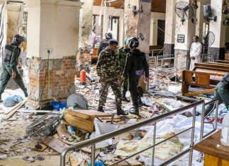 Sri Lanka death toll rises to 300 after bombings