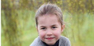 Princess Charlotte new photos, celebrating her 4th birthday