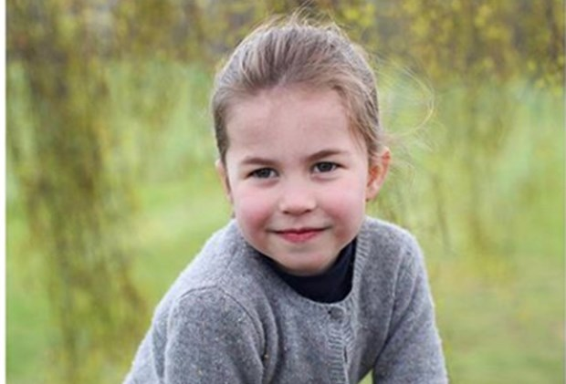 Princess Charlotte new photos, celebrating her 4th birthday