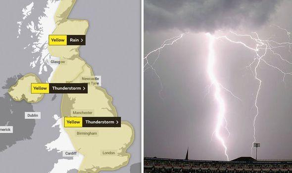 UK rain latest: Met Office issues severe weather warning