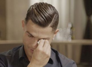 Cristiano Ronaldo breaks down in tears during TV interview (Watch)