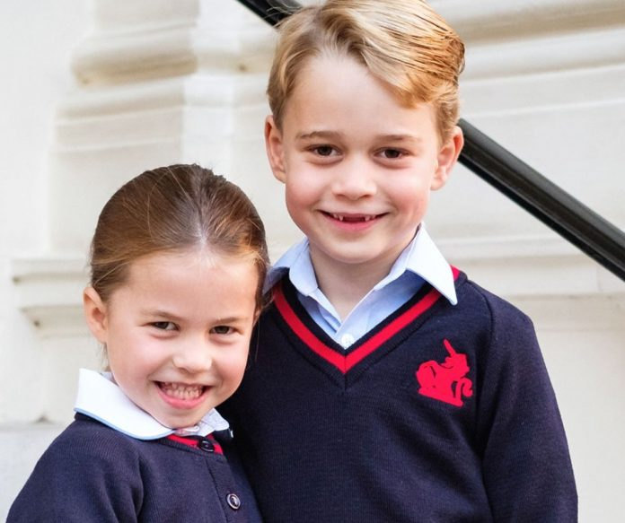 See Princess Charlotte's First Day of School Portrait (official photo)