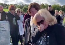 Irish man hilariously pranks his family at his own funeral (Watch)