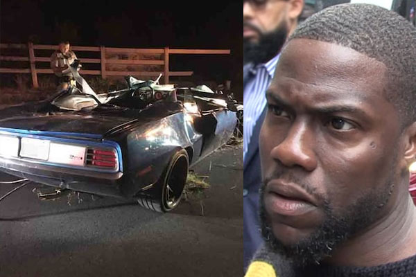 Kevin Hart Car Crash Caused By Sudden Acceleration, Report