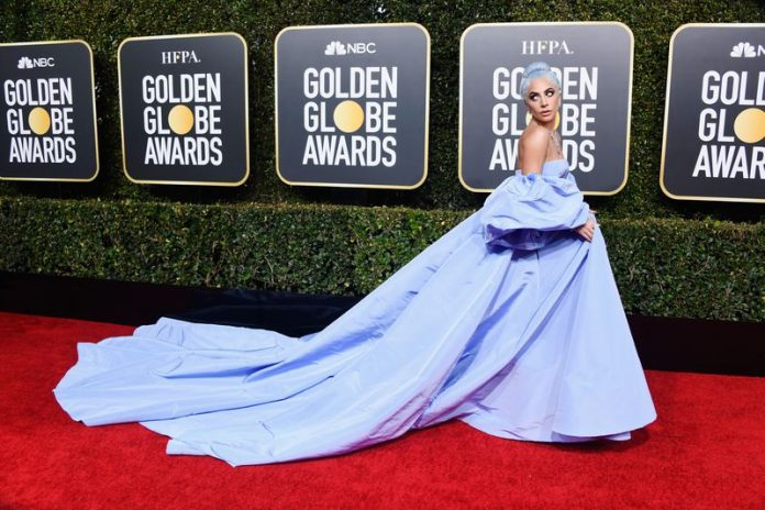 Lady Gaga Golden Globes dress being auctioned off by hotel maid, Report