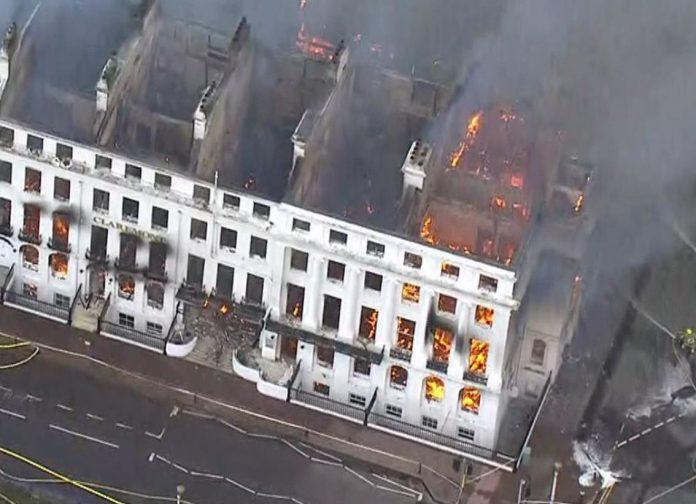 Eastbourne fire latest: Six people injured after major blaze