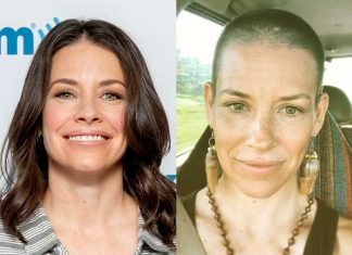 Evangeline Lilly Shaves Her Head in incredible transformation video
