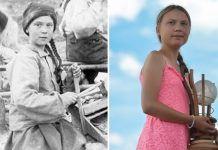 Greta lookalike appears in Yukon gold rush photo, Report