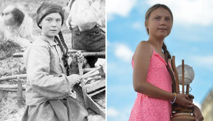 Greta lookalike appears in Yukon gold rush photo, Report