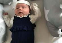 """Jessica Drake gives birth """"Lily-Grace"""" naturally to one of the UK's biggest babies"""