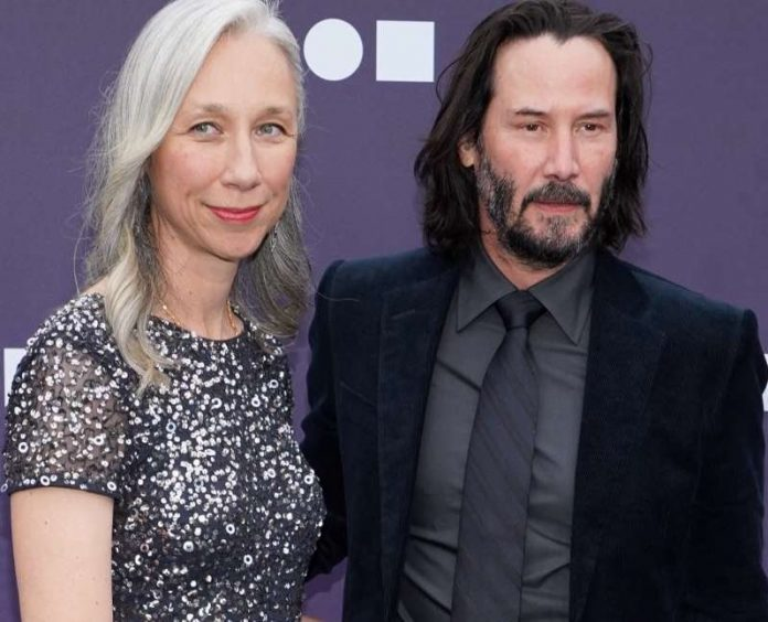 Keanu Reeves Goes Public With First Girlfriend (Photo)
