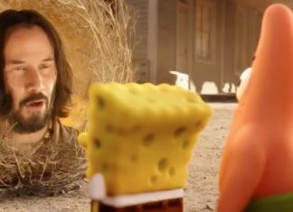 Keanu Reeves makes a bizarre cameo in new 'SpongeBob Movie', Watch