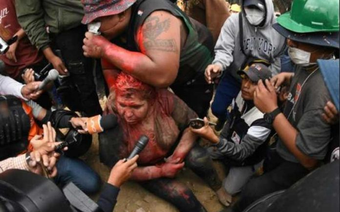 Patricia Arce mayor beaten, dragged through streets in Bolivia