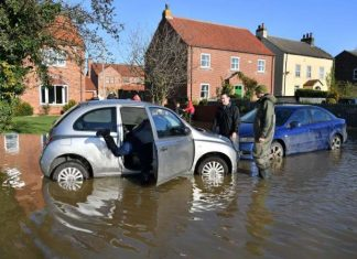 UK flood warnings: Residents braced for more rain