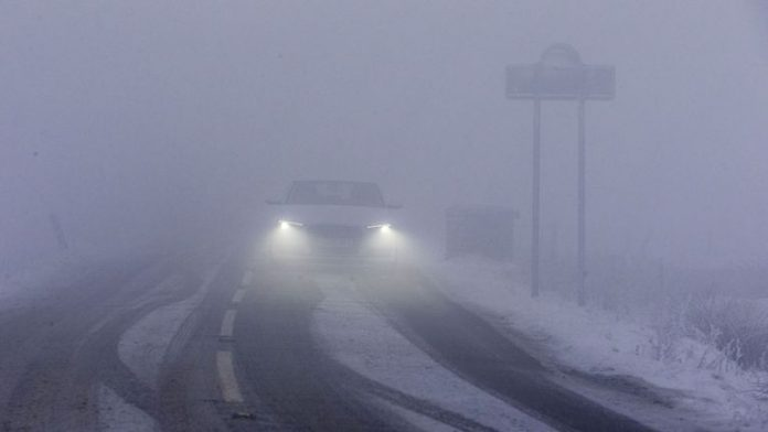 UK weather: Freezing fog warning issued for morning commute