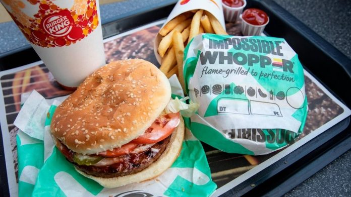 Vegan sues Burger King over 'Impossible Whopper', Report