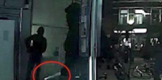 CCTV shows 'postcode rivalry' murder gang brandishing sword (Picture)