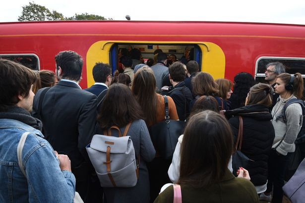 Commuter chaos as 27-day train strike begins