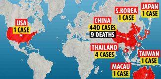UK: Where has coronavirus spread?