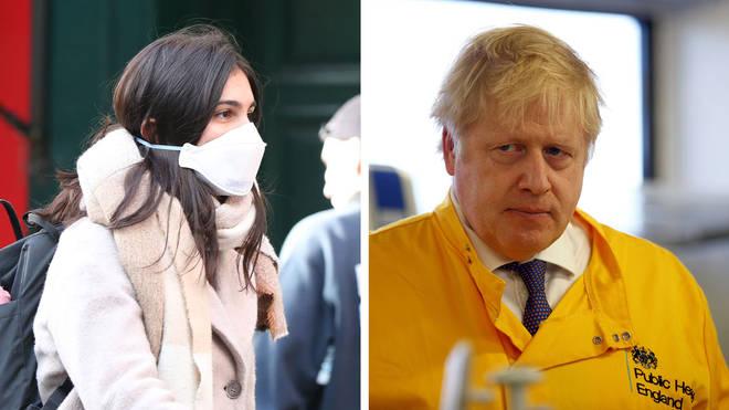 The UK's coronavirus delay phase plan, Report