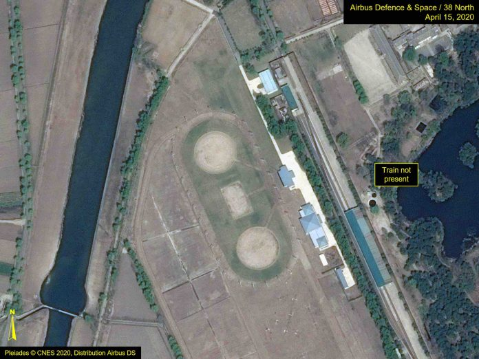 Satellite Imagery Finds Likely Kim Jong-un Train Amid Health Rumors