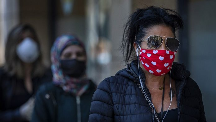 UK: public can wear scarves instead of masks (Study)