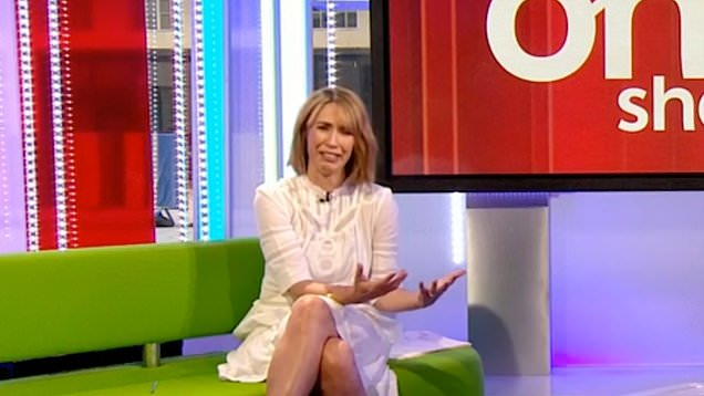 Alex Jones Cuts Her Finger Open On The One Show (Watch)