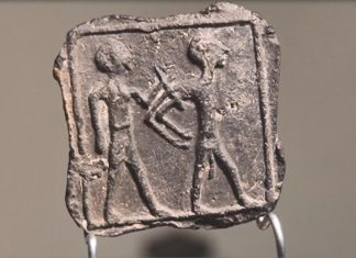 Boy Finds Tablet Immortalizing Victorious Canaanite and His Naked Captive, Report