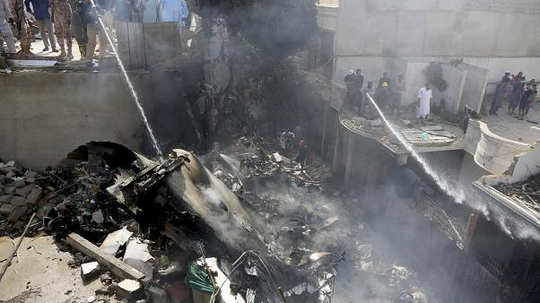Pakistan plane crash kills 97, two survivors