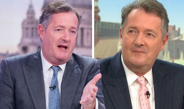 Piers Morgan off GMB to await test result