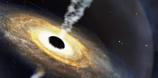 A monster quasar in the early universe, Report