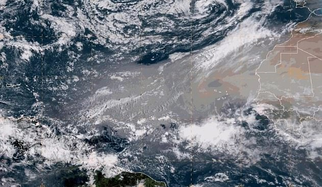 Saharan Dust Cloud Blowing Over the Atlantic is Visible From a Million Miles Away in Space, Report