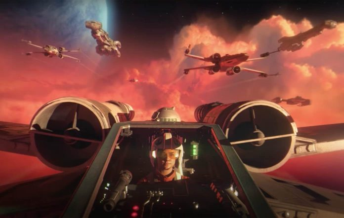 Star Wars: Squadrons trailer pits X-Wing vs TIE Fighter (Watch)