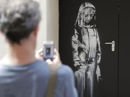 Stolen Banksy work found in Italy (police)