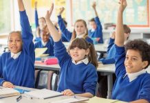 UK: Children to return to school today - for the first time in 73 days