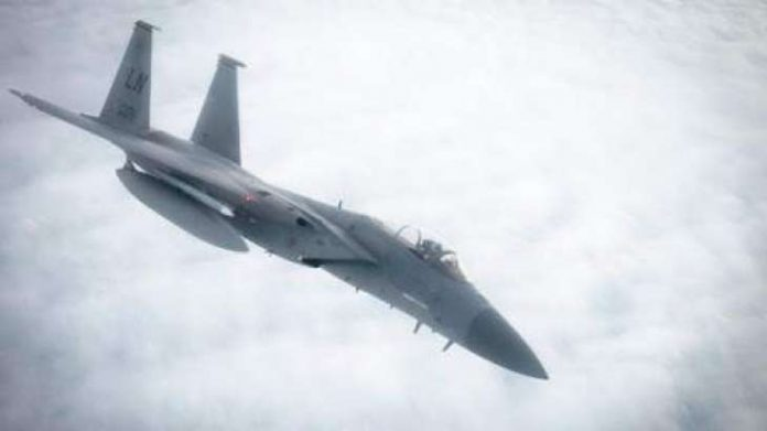 US F-15C fighter jet crashes into sea off UK coast, Report