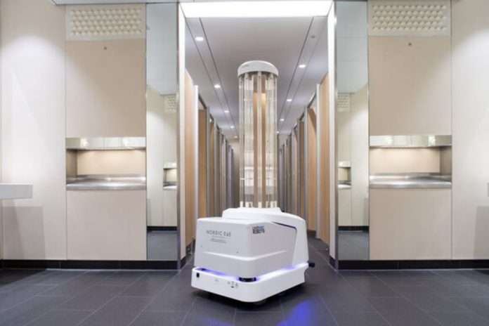 Heathrow Airport deploys cleaning robots to kill viruses, Report