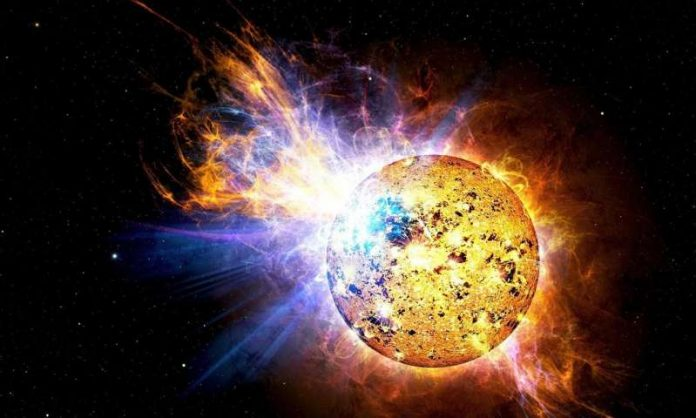 Scientists catch massive stellar flares on nearby small star AD Leonis