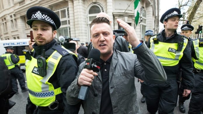 Tommy Robinson flees UK as he 'doesn't feel safe' after 'arson', Report