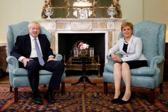 Boris Johnson 'blocks plan' for Nicola Sturgeon to attend UK Government cabinet meetings, Report