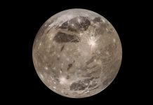 Jupiter's huge moon Ganymede may have the largest impact (News Study)