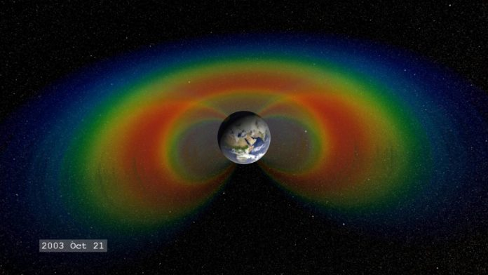 NASA finds huge 'dent' in Earth's magnetic field, finds new research
