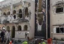 Briton among 26 killed in Somali hotel suicide blast